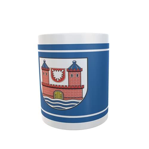 U24 Tasse Kaffeebecher Mug Cup Flagge Burg auf Fehmarn