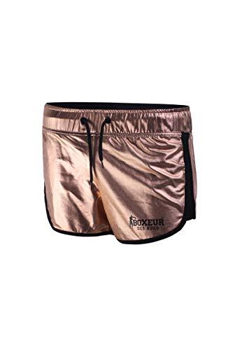 BOXEUR DES RUES - Pantaloncini da Donna Traspiranti con Logo Stampato, Donna, XS