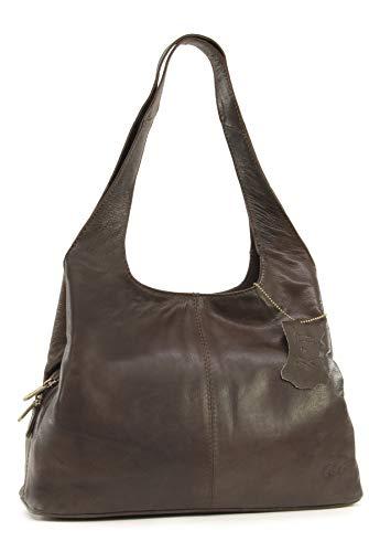 Gigi - OTHELLO 4326 - Bolso de hombro - Cuero - Oscuro Marrón