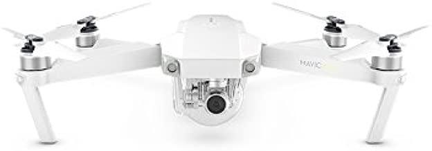 DJI Mavic Pro Alpine White Combo Mini Portable Quadcopter Drone with remote controller