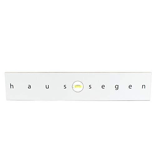 Cat Design Haussegen weiß - Geschenk zur Hochzeit, originelle Geschenkidee für das Brautpaar