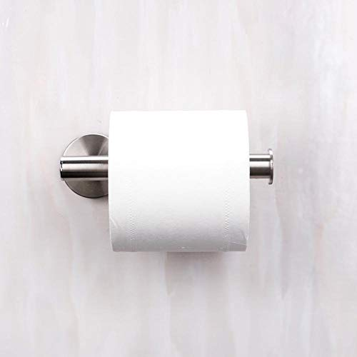 portarrollos baño Sostenedor de papel de acero inoxidable de cocina de la suspensión rollo de papel toalla rack WC Complementos de baño Accesorios colgantes del organizador del almacenaje Soporte par