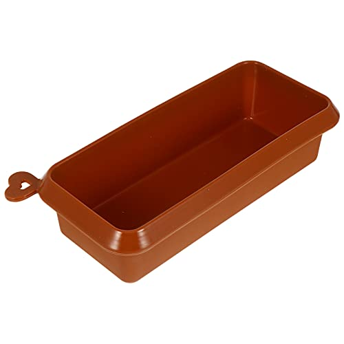 Cabilock Bread Loaf Pan Silicone Rectangular Baking Mold Bakeware for Cakes Breads Meatloaf Quiche