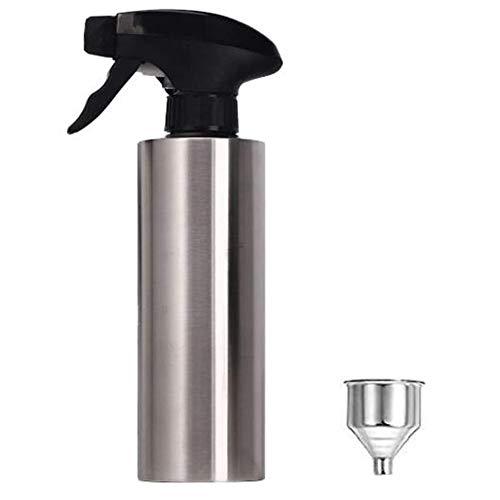 Fransande - Pulverizador de aceite de oliva, pulverizador de vinagre de acero, apósito, barril de aceite para barbacoa, 350 ml, para cocina, barbacoa, etc.