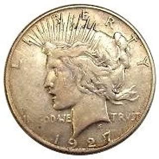 1927 dollar coin