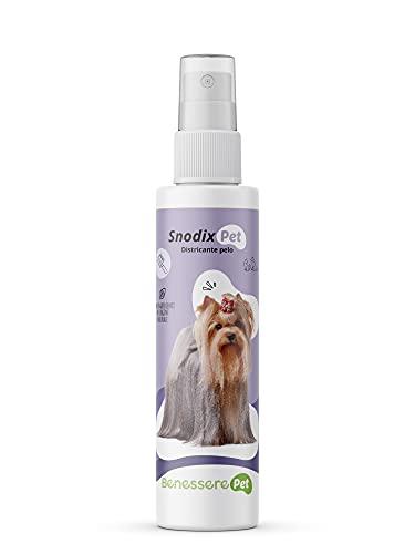 BenesserePet Snodix Knot Dissolver für Hund und Katze 150 ml Entwirren und Polieren für Haare, Spray für Hund und Katze entwirren Knoten, verhindert die Bildung von Knoten, entwirrt die Haare