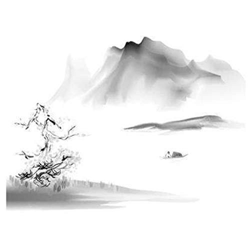 Chinesische Art Tinte Malerei abstrakte Tinte Tapete Kunst Design Wanddekoration