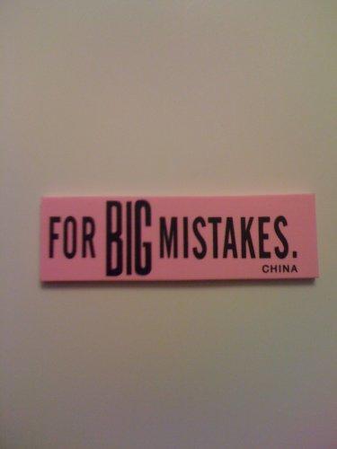 for Big Mistakes Eraser - Economy Version