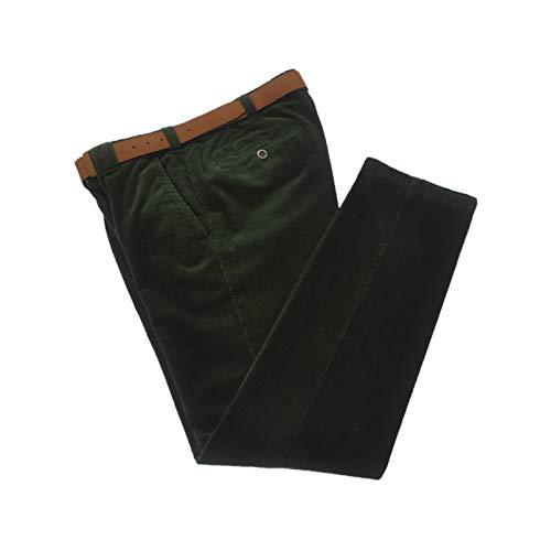 MEYER Pantalon en velours stretch Art.5529 col.27 vert mod.Rio - Vert - 46