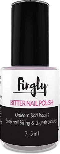 Fingly Nagellack gegen Nägelkauen I Fingernägel kauen stoppen I Natürliches Mittel gegen...