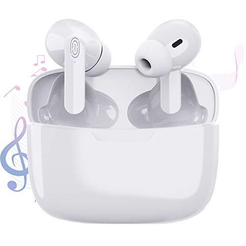 Auricular Bluetooth 5.1, Auriculares inalámbricos Bluetooth In-Ear Mini Auriculares, reducción del Ruido...