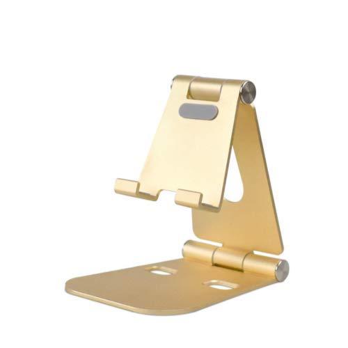 Fonetic Solutions - Soporte de escritorio doble ajustable, soporte para teléfono móvil, soporte para teléfono móvil y tableta, aleación de aluminio, compatible con Lenovo Phab 2