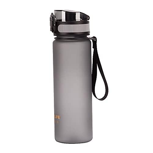 GCBSH Botella Agua DeporteGimnasio Plastico con Filtro 500ml - No Tóxico Sin BPA con Tapa AbatibleImpermeable Y Reutilizable | para Beber Ideal para Niños, Deporte, Escuela