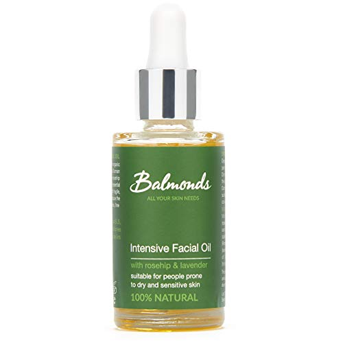 Balmonds Intensive Facial Oil 30 millilitres 100 percent natural oil with rosehip and vitamin E