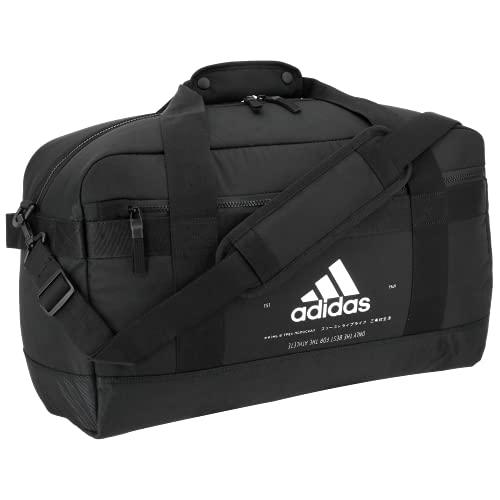 adidas Unisex Amplifier Duffel Bag, Black/White, ONE SIZE