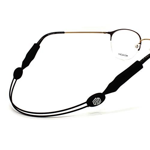 Seelwerk Verstellbares Brillenband im 2er Set - Sportbrillenband für Damen, Herren & Kinder - Brillenhalter für Sport & Freizeit – Wasserfest & Flexibel - Brillenzubehör