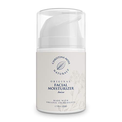 Facial Moisturizer - Made With Organic Aloe Vera - Face Moisturizing Cream for All Skin Types - Sensitive, Oily, Dry, Severely Dry - Anti-Aging & Anti-Wrinkle for Women & Men - Christina Moss Naturals