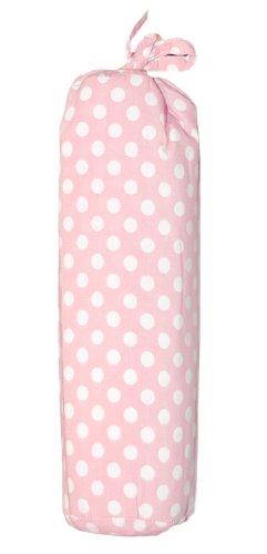 Taftan Spannbettlaken 60x120 cm Punkte rosa