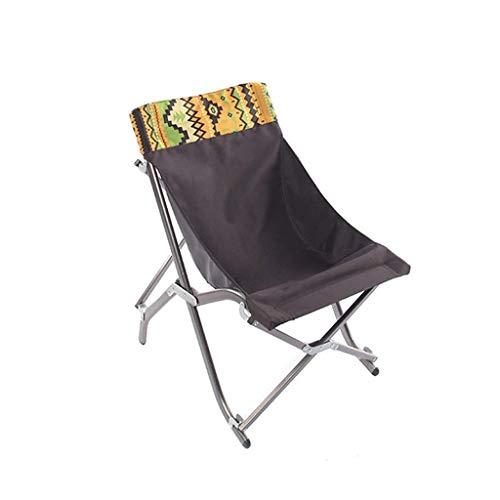 WFH Silla plegable de lujo Sillas reclinables Sillas reclinables Sillas relajantes Zero Gravity Portable Beach Garden Camping Barbecue, Bearing 100Kg