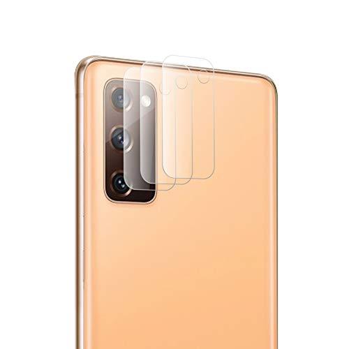 ROVLAK Kamera Glas für Samsung Galaxy S20 FE Schutzfolie Kamera [3-Pack] Anti-Kratzer Ultradünner Flexibler Flim HD klarer Anti-Fingerabdruck Kamera Folie für Samsung Galaxy S20 FE