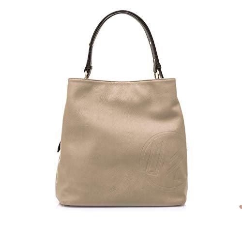 Maria Mare Akua Damen Handtasche, Beige - beige - Größe: Einheitsgröße