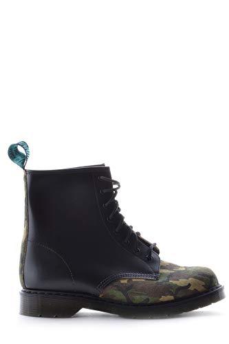 SOLOVAIR Luxury Fashion Herren MCBI15389 Schwarz Leder Stiefeletten | Jahreszeit Outlet
