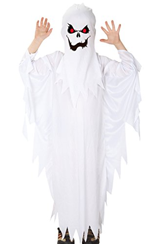 Kids Boys Halloween Ghost Costumes Scary Spooky...