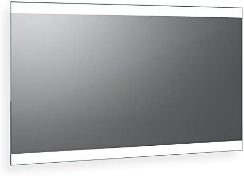 Spiegel ID Noemi 2019 Design  LED BADSPIEGEL mit Beleuchtung - Made in Germany - individuell nach Ma - Auswahl  (Breite) 120 cm x (Hhe) 80 cm