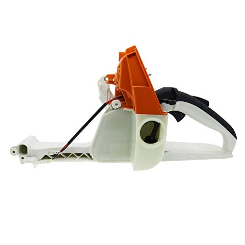 QHALEN Gas Fuel Tank Back Rear Handle for STIHL MS660 MS650 066 065 Chainsaw 1122 350 0817