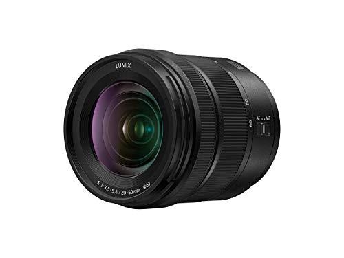 Panasonic S-R2060E LUMIX S Objektiv (20-60 mm, F3.5-5.6, Filtergröße 67 mm, Staub, spritzwasser und kältgeschützt) schwarz