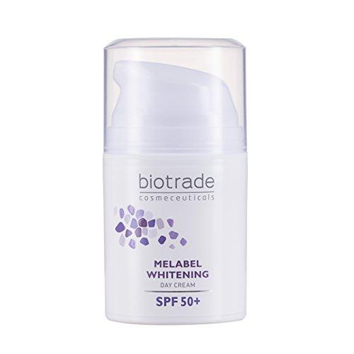 Biotrade Melabel Aufhellende Tagescreme mit SPF 50+ 50 ml, hellt dunkle Flecken auf der Haut auf,...