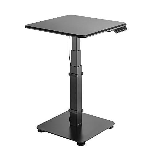 LogiLink EO0013 - Elektrisch verstellbarer Sitz-/Steh-Konferenztisch - Stehpult für Büro/Schule/zu Hause mit programmierbarem LED-Speichermodul (3 Positionen)