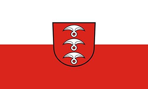 Unbekannt magFlags Tisch-Fahne/Tisch-Flagge: Fellbach 15x25cm inkl. Tisch-Ständer