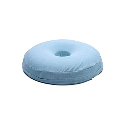 WGLL Cojín: alivio del dolor de la cojín del asiento de rosquilla para las hemorroides, llagas, próstata, coccix, ciática, embarazo, post natal, bursitis isquial Tuberasidad por innovaciones ergonómic
