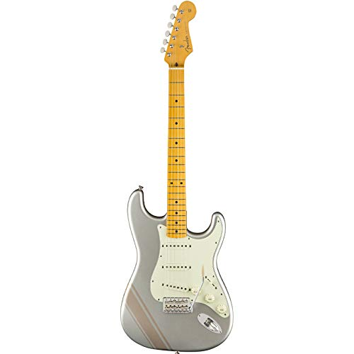 Cheap Fender FSR Traditional 50s Stratocaster Electric Guitar with Stripe (Inca Silver) Black Friday & Cyber Monday 2019