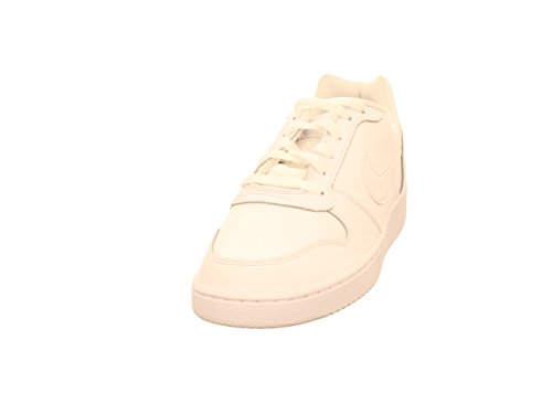 Nike Men's Ebernon Low Basketball Shoe, White/White, 11 Regular US