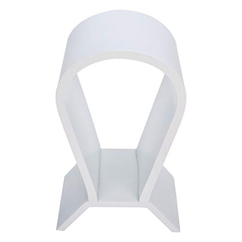 Soporte Para Auriculares Soporte Para Auriculares Soporte Para Pantalla De Auriculares Para Juegos Colgador Escritorio Soporte De Madera Para Montaje En La Cabeza Innovador Para Computadora(Blanco)