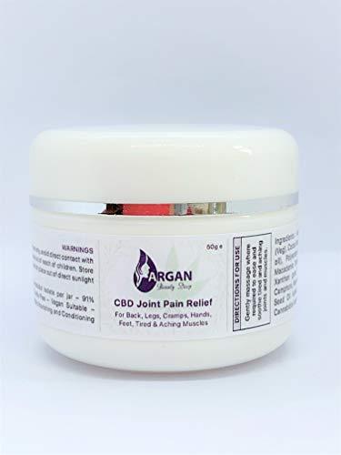 Hemp Joint Cream| For Joints | Knees | Feet | Hands | Back| Muscles | Vegan | Organic | Natural | 50g