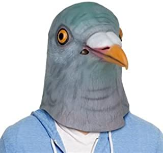 Halloween Creepy Adult Latex Pigeon Masks - Fancy Dress