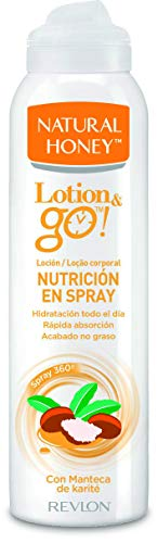Natural Honey Loción Corporal en Spray Lotion&Go! Nutrición 200ml, pack de 6