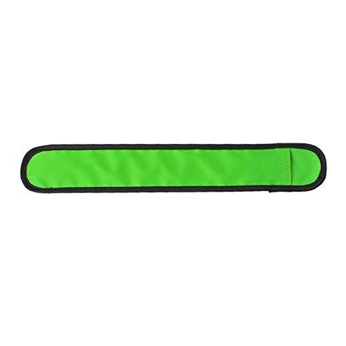 Tuzi Qoge LED Leucht Slap Pat Kreis Im Freien Sport-Armband, Klein, Größe: 26 * 4cm QiuGe (Color : Green)