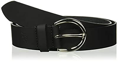 "Colonial Belt Company Women's Made in The USA Casual Leather Jean Belt, black (mississippi), Extra Large (40"" - 44"")"