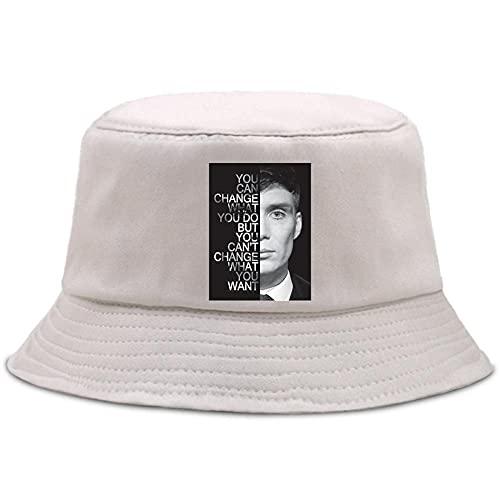 Estampado Sombrero De Cubo Masculino Al Aire Libre Casual Sombreros De Pescador Verano Unisex Plegando Sombreros De Panamá Femenino Hip Hop Sun Cap-Beige