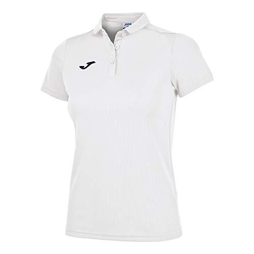 Joma 900247 Camiseta Polo, Mujer, Blanco, M