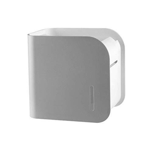 zyl Portarrollos de Papel higiénico sin Perforaciones montado en la Pared Portarrollos de Papel de baño Resistente al Agua Resistente para Almacenamiento de Papel higiénico y Productos de baño