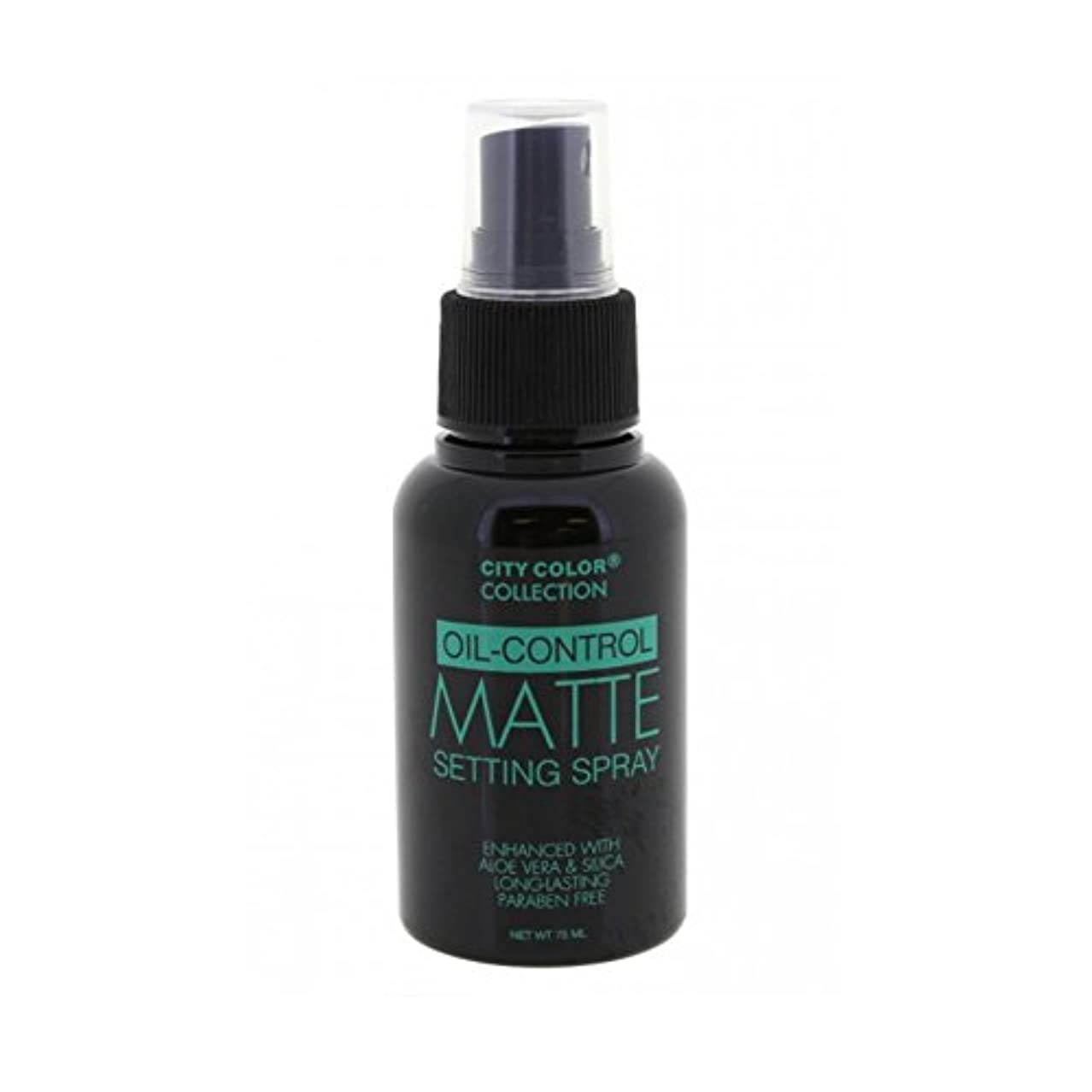 社会学そこから強要(3 Pack) CITY COLOR Oil-Control Matte Setting Spray (並行輸入品)
