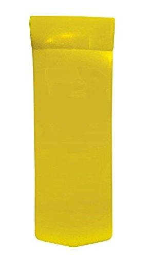 Texas Recreation Sunsation 1.75' Thick Swimming Pool Foam Pool Floating Mattress, Yellow