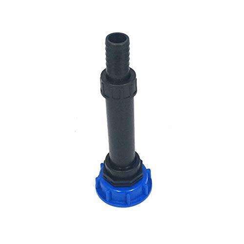 CMS60290R13_288 d'écoulement avec tube plastique DN32, 100 mm AG 1 Douille + plastique, IBC Adaptateur