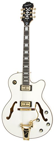 Epiphone Emperor Swingster White Royale (SwingBuckers w/Series/Par.)