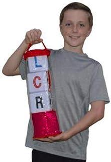 LCR Big Left Center Right Dice Game -Indoor/Outdoor Zip Bag
